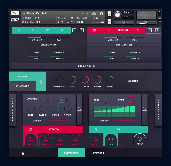 Aeris: Hybrid Choir Designer Pads Screen