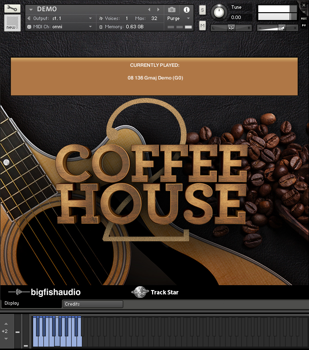 Coffeehouse 2 GUI