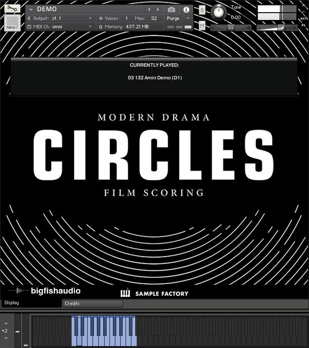 CIRCLES GUI