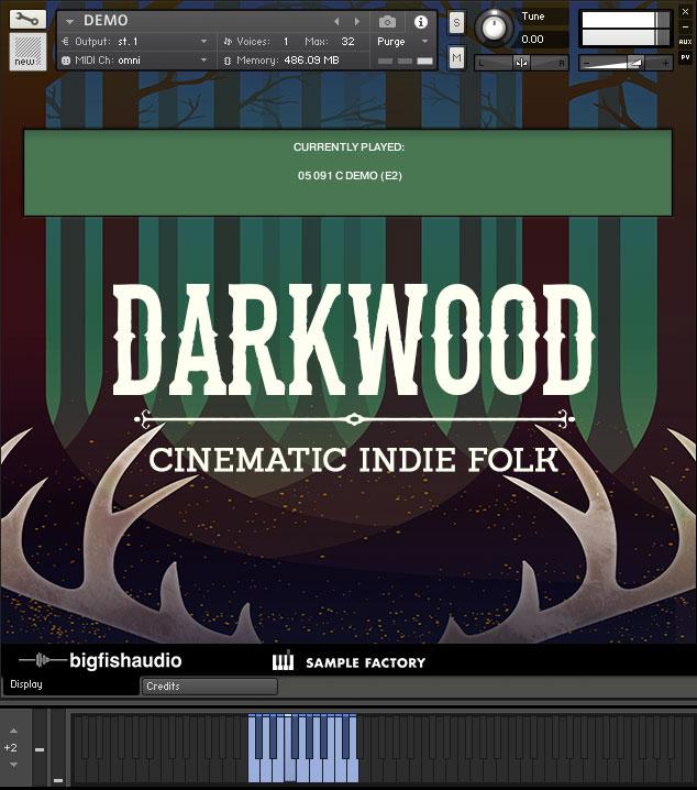 Darkwood GUI