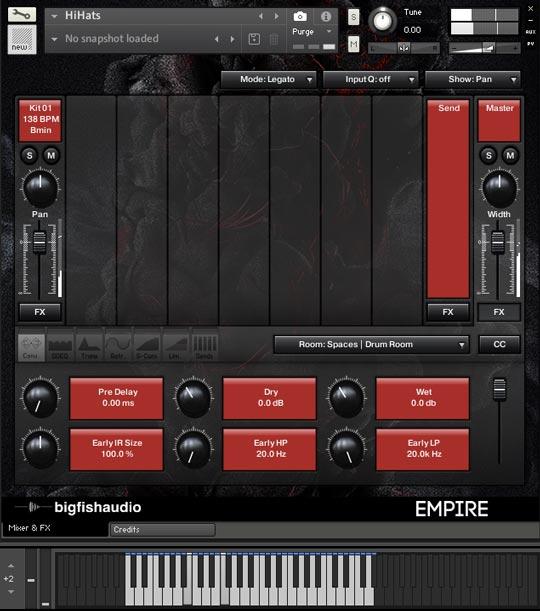 Empire: Trap Construction Kits GUI