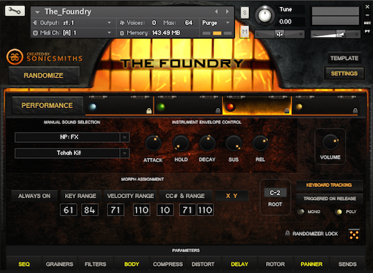 Instrument Screenshot
