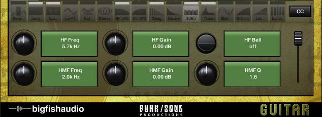 Vintage Guitar Loops GUI
