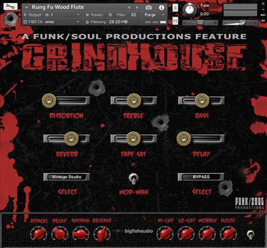 Grindhouse GUI