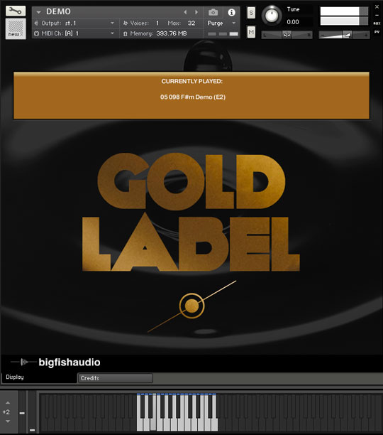 Gold Label: Hip Hop and RnB GUI