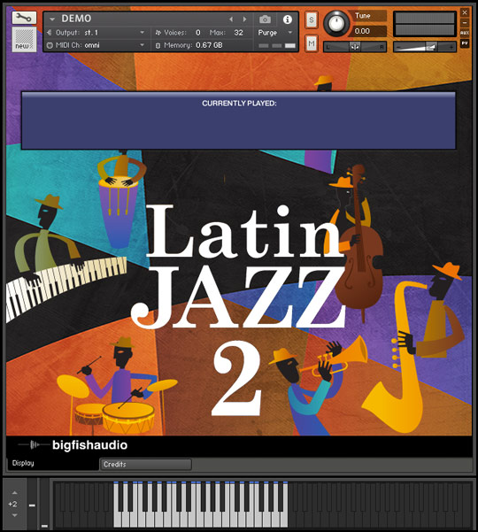 Latin Jazz 2 GUI