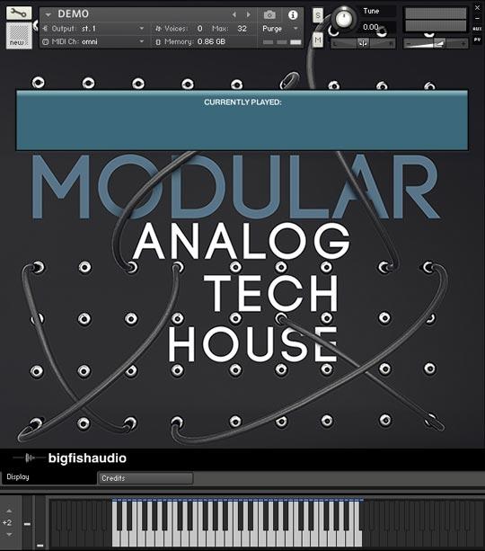 big fish audio modular analog tech house multiformat