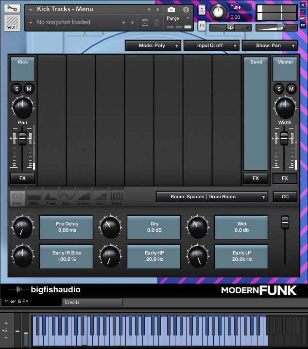 Modern Funk: Funk-Pop Construction Kits GUI