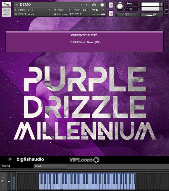 Purple Drizzle: Millennium GUI