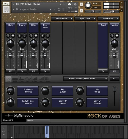 Rock of Ages GUI