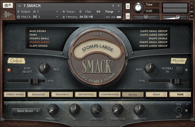 Smack GUI 1