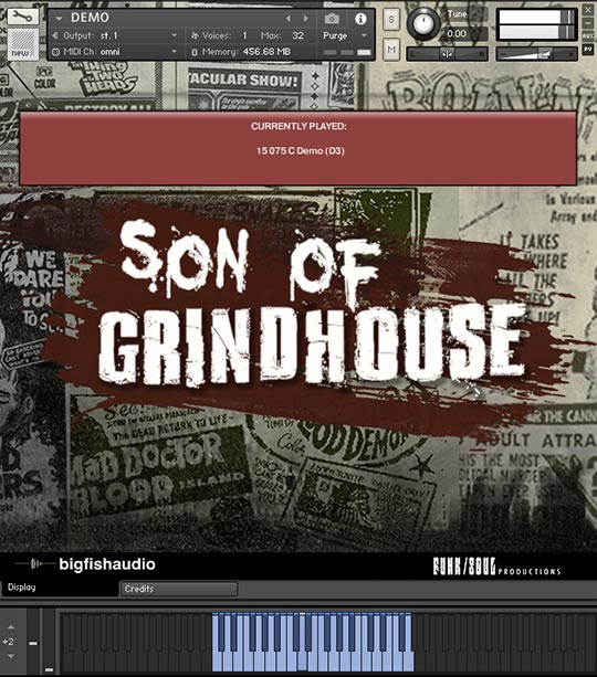 Son of Grindhouse GUI