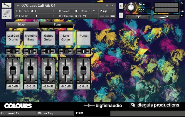 Colours KLI GUI 4