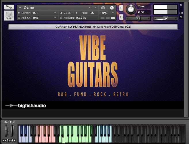 Vibe Guitars GUI