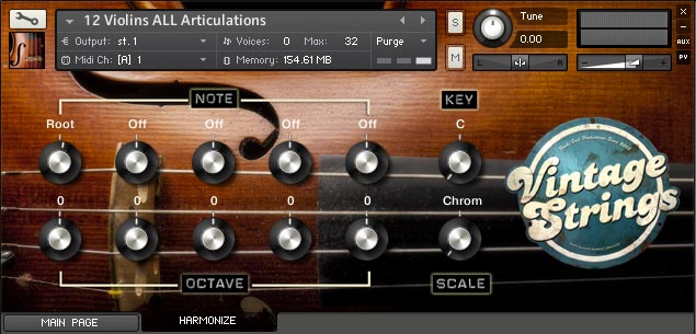 Vintage Strings GUI 2