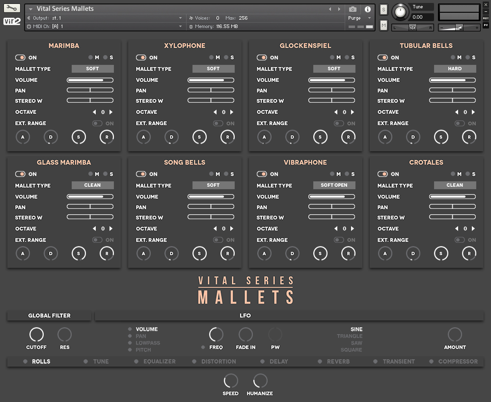 Vital Series: Mallets GUI 1
