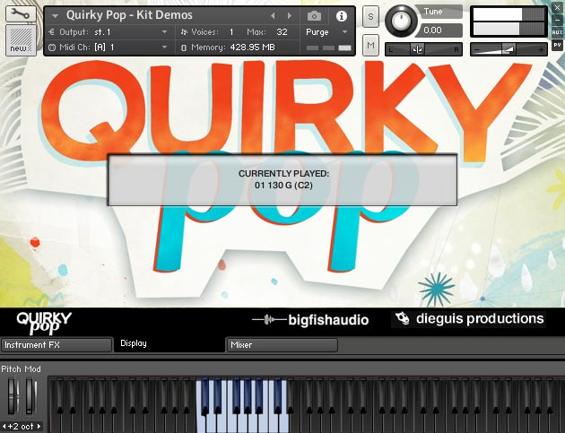 Quirky Pop GUI