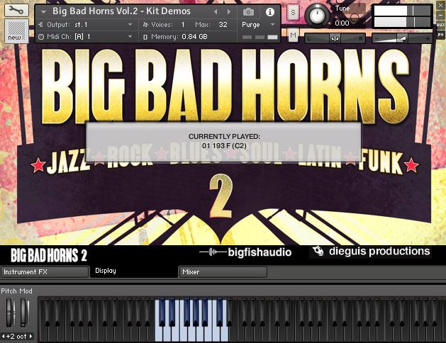 Big Bad Horns 2 GUI