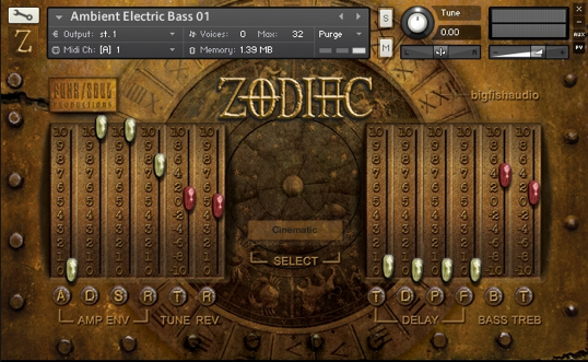 Zodiac Interface